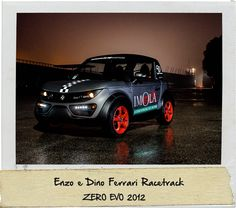 Enzo e Dino Ferrari Racetrack Tazzari Zero Evo 2012 WWW.TAZZARI-ZERO.COM #TAZZARI #ZERO #EM1 #TAZZARIEV #ELECTRICCAR #ZEROEMISSION #DESIGN #LUXURY #ELEKTROAUTO #COCHEELECTRICO #VOITUREELECTRIQUE #CARROELETRICO #ELEKTRISCHEAUTO #ELEKTRIKLIARABA #ZZ #IMOLA #MADEINITALY