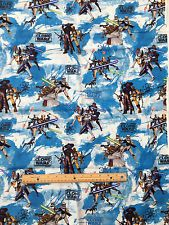 STAR WARS : Clone Wars : 100% licensed cotton :sold by the 1/2 metre