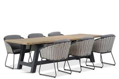 4 Seasons Outdoor Bo/Trente 260 cm dining tuinset 7-delig - Tuinmeubelshop.nl Polywood Outdoor Furniture, Outdoor Furniture Sets, Outdoor Decor, Dining Furniture, Garden Furniture, Dining Set, Patio, Seasons, Modern