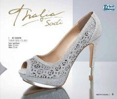 Calzado Thalia Sodi ideales para fiesta. #moda #fashionista #cool #thaliasodi #vestircasual #priceshoes