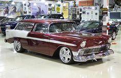 Jay Leno's 1956 Chevy Nomad <3