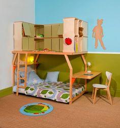 Dormitorios infantiles Popspace por Matali Crasset