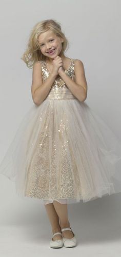 Seahorse Flower Girl Dress 44379 Gold sequin and tulle flower girl dress.Gold sequin and tulle flower girl dress. Flower Girls, Gold Flower Girl Dresses, Tulle Flower Girl, Girls Dresses, Gatsby Flower Girl Dress, Girls Gold Dress, Robes Tutu, Wedding Attire, Wedding Dresses
