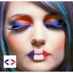 Maquiagens para a copa: França