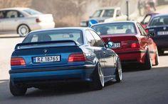 BMW e36 coupe team