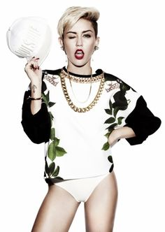 Miley's independence is growing on me.
