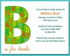 baby shower invitations baby shower invite template b letter awesome baby shower invite template