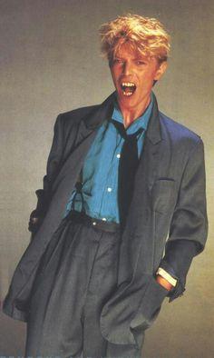 Fierce. David Bowie