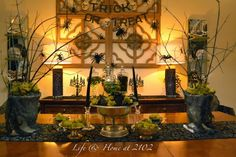 Halloween Dining Room 2013 - The Witches Table