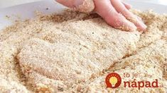 This method of crumbing can be used for chicken or other meat (including fish), or vegetables. Meat Recipes, Real Food Recipes, Chicken Recipes, Cooking Recipes, One Person Meals, Meals For One, Food 52, Diy Food, Food Promotion