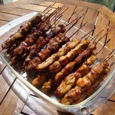 Brochettes d'agneau et de poulet - Sate Kambing & Ayam - Indonésie