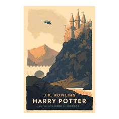 Image of Harry Potter and the Chamber of Secrets Art Print