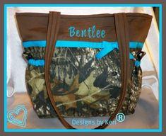 Designs by Keri Boutique Mossy Oak Diaper bag by designsbykeri4u, $65.99