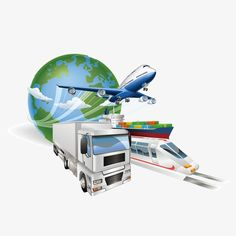 Global Logistics Concept Airplane Truck Train Ship by Krisdog Global logistics concept illustration. Globe, airplane aeroplane , truck, train and cargo container ship. Freight Forwarder, Global Supply Chain, E Learning, Cargo Container, Supply Chain Management, Packers And Movers, Business Intelligence, Train, Airplane