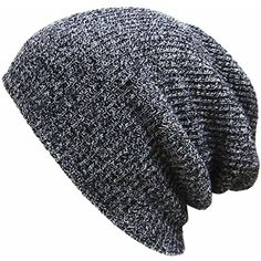 203e2d7a89903f OUTERDO Knit Winter Hat Baggy Beanie Ski Slouchy Chic Cap Skull For Men and Women  Baggy