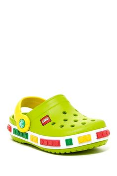 Lego Clog (Toddler & Little Kid) from HauteLook on shop.CatalogSpree.com, your personal digital mall.