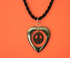 Hematite Gemstone Jewelry 'Peace of Heart'  by EVRCreations, $18.00