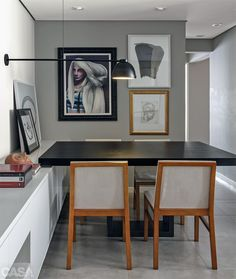 Home Office – Home Decor Designs Home Office Design, Home Office Decor, House Design, Studio Design, Rooms Home Decor, Bedroom Decor, Dinner Room, D House, Minimalist Apartment