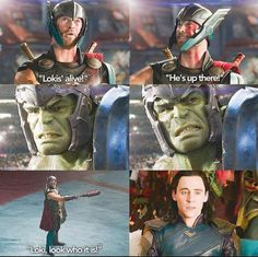 """Loki is just like, """"We'll I'm fucked."""""""