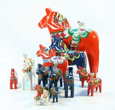 Find a nice selection of Dala Horses from Nils Olsson, Sweden at www.mygrowingtraditions.com