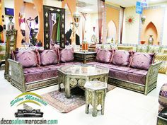 17 meilleures images du tableau salon marocain   Boutique salon ...
