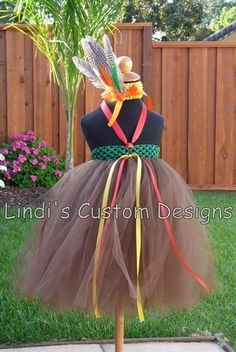 Indian tutu dress christmas thanksgiving holiday quote
