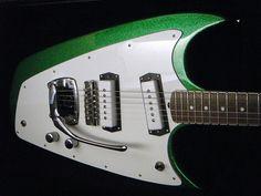 Hallmark Swept-Wing Guitar, via Flickr.