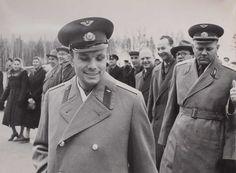 Фотохроника ТАСС. Лот из трех фотография Ю.А. Гагарина. 1961 г.