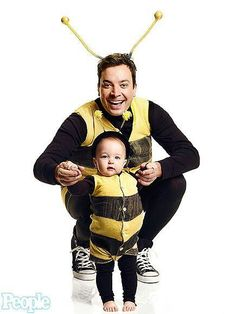 Jimmy Fallon and his cute daughter, Winnie!