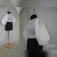 Best 11 Sleeve pattern alteration that will create a lovely drapin – SkillOfKing. Dress Sewing Patterns, Clothing Patterns, Vintage Sewing Patterns, Sewing Clothes, Diy Clothes, Sewing Sleeves, Pattern Draping, Modelista, Fashion Design Sketches