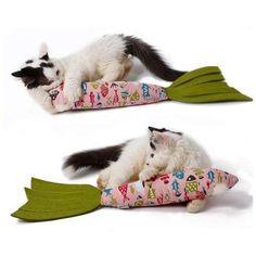6 Ruan Pet Cat Toys Scratch Chewing Interactive Kitten Catnip Stuffed Artificial Fish Cat Play