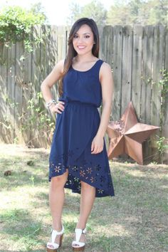 This dress is the cutest!  It's very flattering to many different body types!  Be prepared for compliments!   www.swankystarfish.com