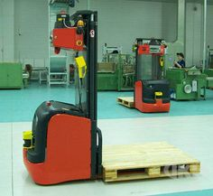 Name: Laser guidance forklift AGV Category: AGV Introduction: IKV laser guidance forklift AGV, also referred to as Laser guided vehicles. There are four main types of laser guided vehicles: high reach lift LGVs, fork LGVs, conveyor-bed LGVS an.. Manufacturer: IKV Robot