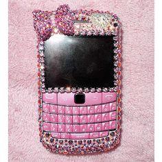 Pink blackberry case