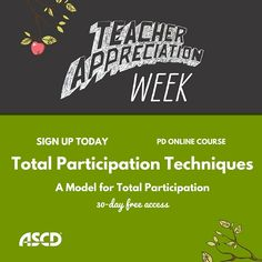 To truly engage all learners, instructors need to use a more intentional approach to student engagement. This PD Online® course will introduce you to practical techniques for cognitively engaging students during lessons, including the uses of on-the-spot techniques, hold-ups, and total participation techniques.