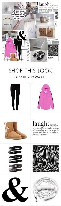 """Common White Girl // I'm Back!!!!!!"" by fierceunicorn81 ❤ liked on Polyvore featuring Majestic, Victoria's Secret PINK, UGG Australia, American Apparel, Gucci, Hai, MELIN, WALL, Clips and Urbanears"
