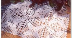 Square motifs for napkins and tablecloths