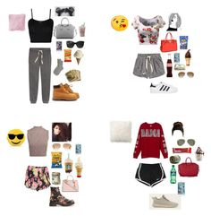 """""""road trip with best friends"""" by b-unnny ❤ liked on Polyvore featuring WearAll, H&M, Johnstons of Elgin, JAG Zoeppritz, Givenchy, Ray-Ban, River Island, Timberland, Boohoo and Michael Kors"""