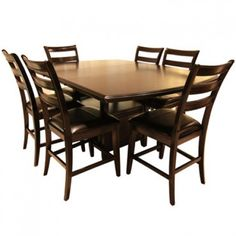 CROWN MARK ELLIOTT 4 CHAIR BENCH PUB SET