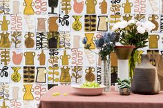 """Pierre Frey's passion for creative and colorful designs is evident in this season's wallpaper collection, """"Les Dessins 3."""" The inspiration of the collection is found in artistic favorites, Pierre Frey fabrics, and archival reinterpretations."""