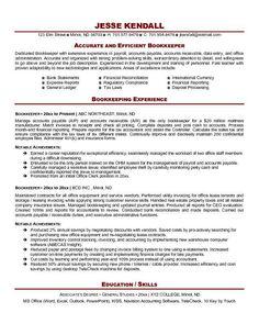 Https://s Media Cache Ak0.pinimg.com/236x/92/f8/47...  Book Keeper Resume