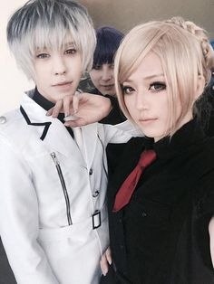 Soraya's cool cosplay images from the web Best Cosplay, Cosplay Style, Anime Cosplay, Tokyo Ghoul Cosplay, Akira, Sailor Moon, Chef Jackets, Cartoons, Gaming