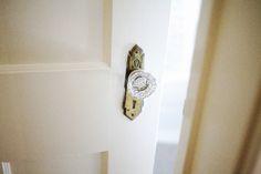 Decorative doorknob.