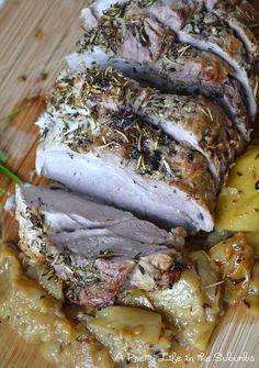 Rosemary & Garlic Roasted Pork