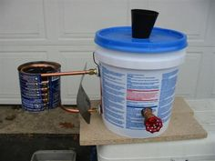 Portable water heater. Never do dishes in cold water, in the woods again.