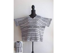 PATR1109 Xyra Crochet-pattern - Wide shirt - top - (Dutch & English-US)