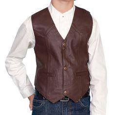 Scully Kid's Lambskin Vest