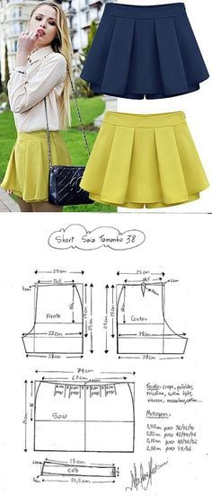Trendy Sewing Clothes Women Patterns Free Ideas Wrap the working thread, that is, the Sewing Clothes Women, Sewing Pants, Diy Clothes, Clothes For Women, Skirt Sewing, Free Clothes, Dress Sewing Patterns, Sewing Patterns Free, Clothing Patterns