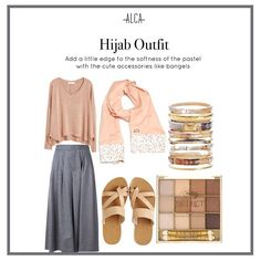 Alhamdulillah it's Friday! Here's a casual-pastel-edgy look to inspire your upcoming weekend outfit! And the best pair of this style is = Neola Peach Peony scarf. Tights Outfit, Hijab Outfit, Ootd Hijab, Hijab Chic, Older Women Fashion, Fashion Tips For Women, Edgy Outfits, Fashion Outfits, Fashion Top
