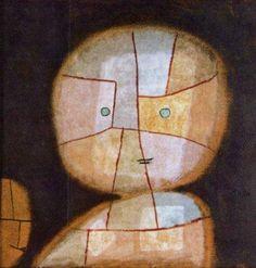 Paul Klee Buste d'enfant 1923